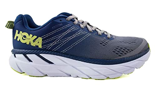 6732c95f844e7 Amazon.com | Hoka One One Women's Clifton 6 - Ensign Blue / Wild ...