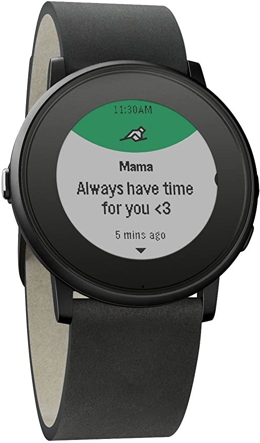Pebble Time Round - Smartwatch (20mm, 1.25