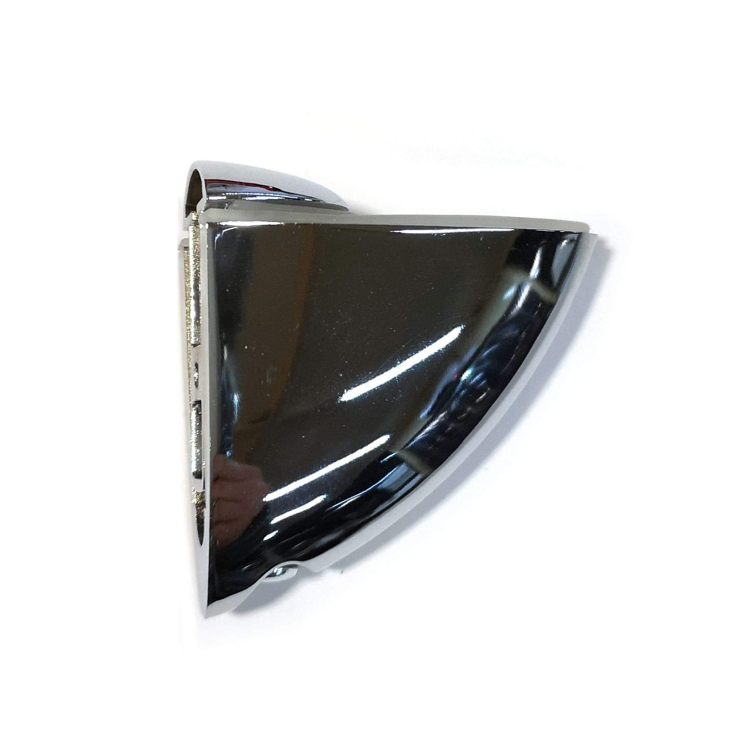2x Support pelicano r/églable pour /étag/ère Chrome 75x67mm Moyen