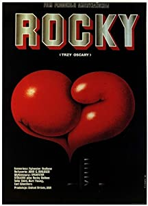 Rocky (1976) Polish Movie Poster 24x36
