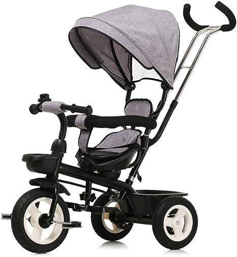 Bicicleta para niños, carro de bebé para bebés Triciclo bicicleta ...