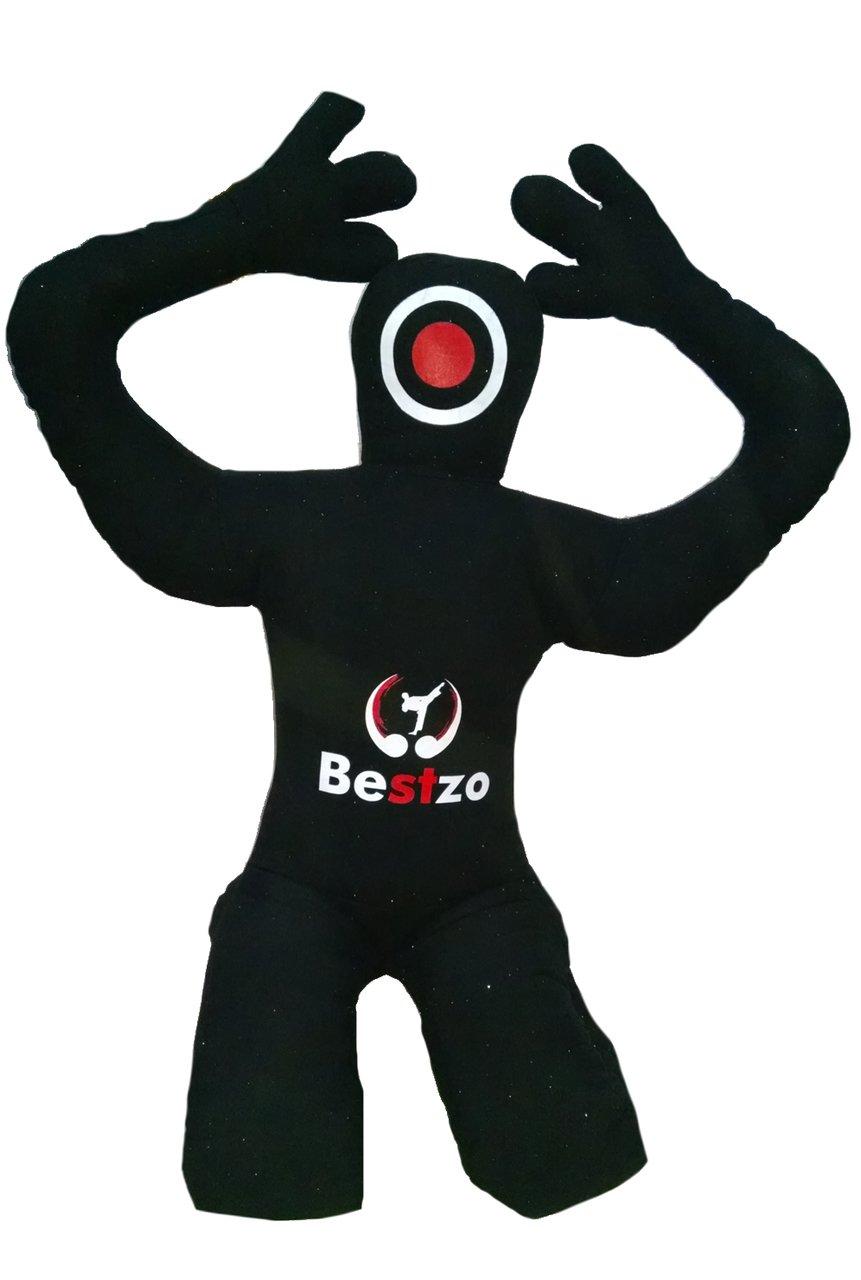 【超歓迎】 bestzo MMA Jiu B01MG4MZGU Jitsu柔道Punching Bag GrapplingダミーブラックSitting Position with with hands Bag behind-unfilled 48 inches (4 ft) Canvas Black B01MG4MZGU, ケイホクチョウ:a958ad12 --- a0267596.xsph.ru