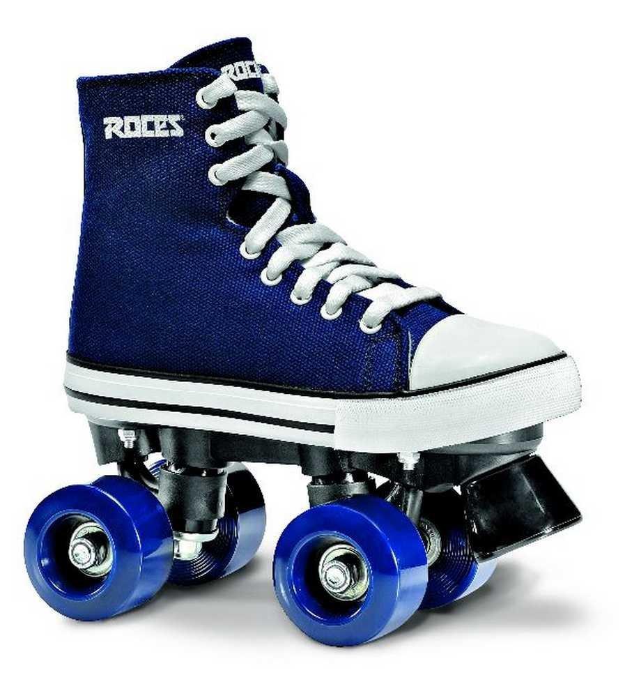 Roces 550030 Model Chuck Roller Skate,Blue/White,4.5USW,2.5USM,35EU,2UK