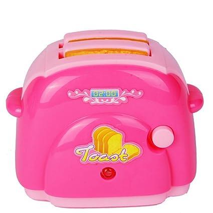 Skyeye Mini Electrodomésticos para Niños Pequeños Electrodomésticos Máquina para Hacer Pan Juguetes Infantiles para Bebés,