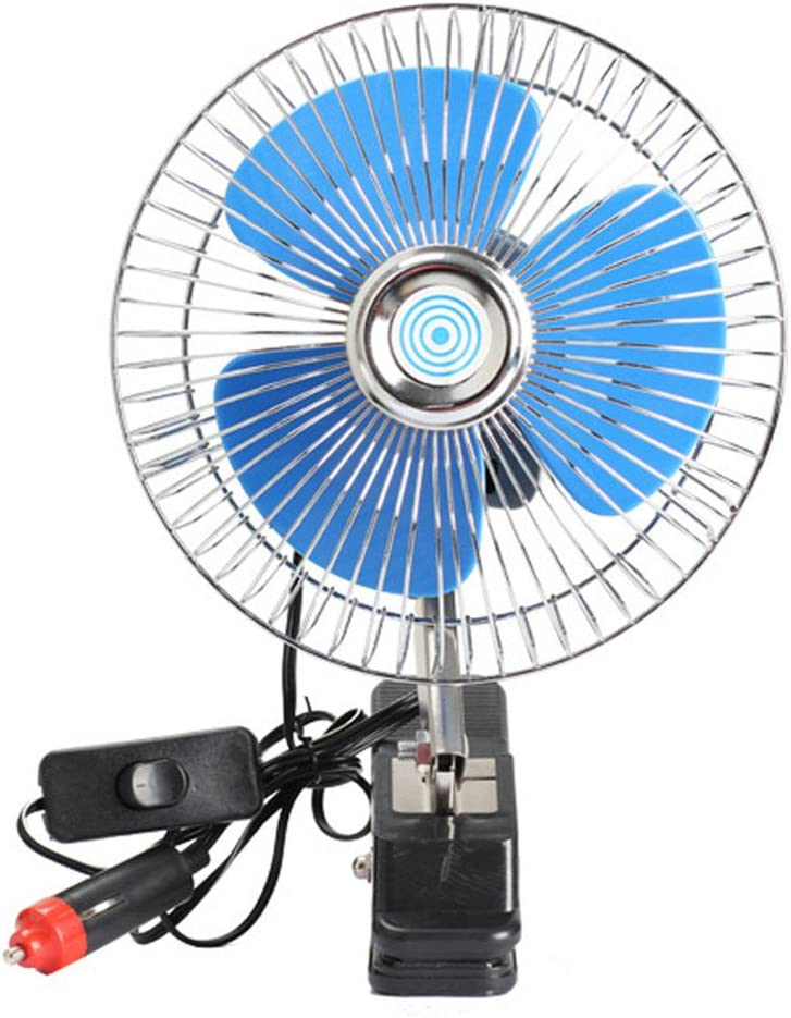 AAPP Shop 12 V Mini Ventilador del Ventilador del Coche Eléctrico ...