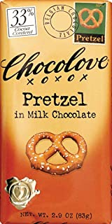 product image for Chocolove Milk Chocolate, Pretzel, 3.2 Ounce (Pack of 12)