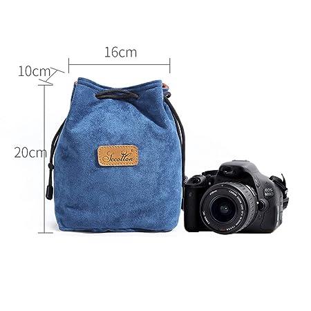 Nalkusxi - Funda para cámara y Objetivo Nikon Canon Nikon Sony ...