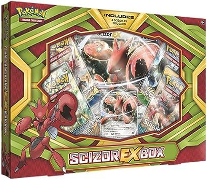 PoKéMoN pok80294 TCG scizor-ex Caja Juego de Cartas: Amazon.es: Juguetes y juegos