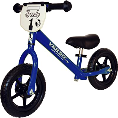 Verso by Kettler Speedy Balance Bike, 10-Inch, Blue: Sports & Outdoors