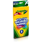 Crayola 8ct Washable Markers Fine