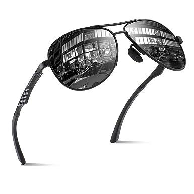 8b9779b6338 CGID GA61 Premium Al-Mg Pilot Polarized Sunglasses UV400 Mirror for Men  Women  Amazon.ca  Clothing   Accessories