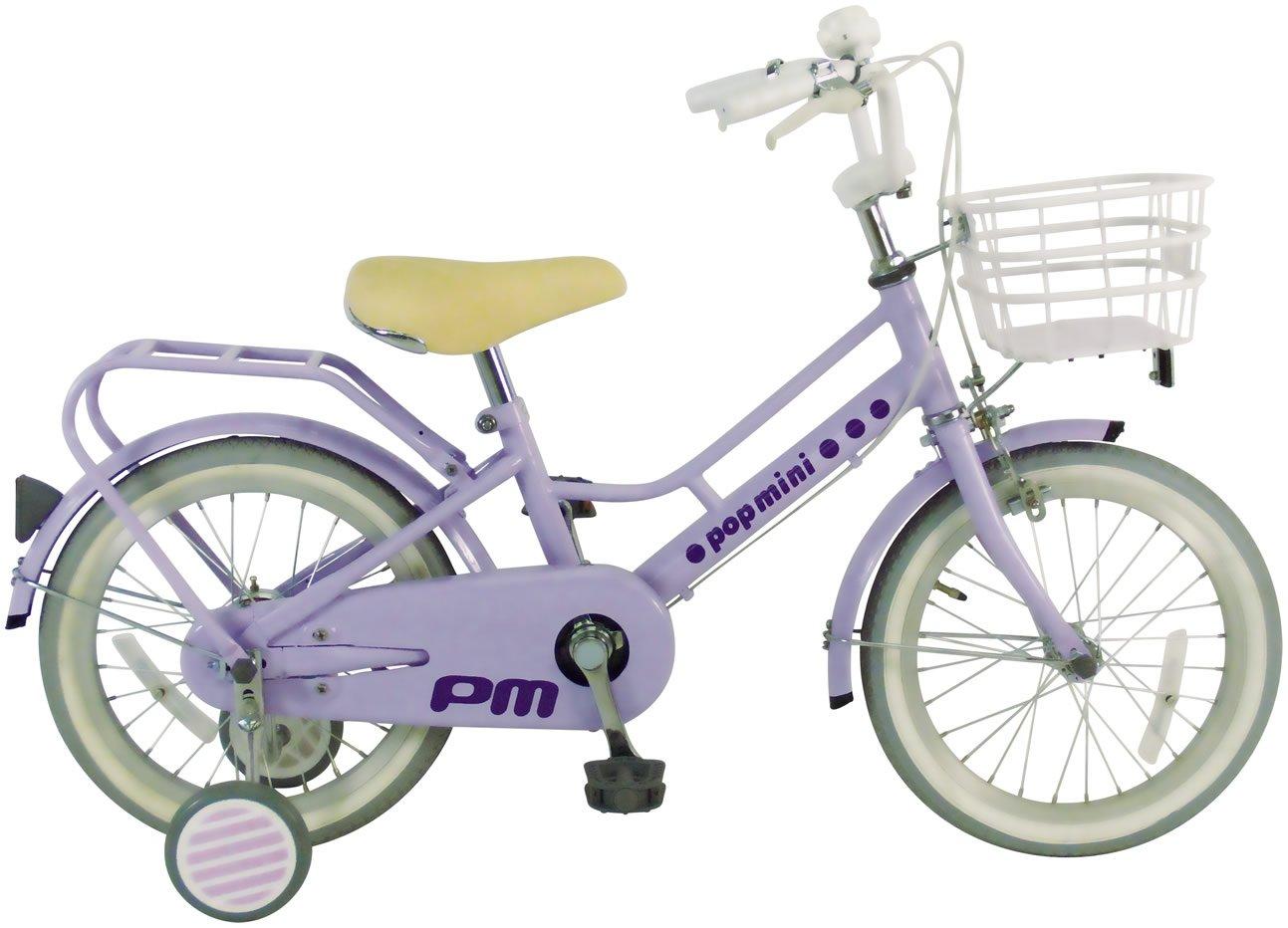 C.Dream(シードリーム) ポップミニ PM61 16インチ 幼児自転車 ラベンダー 100%組立済み発送 B072JFX3HF