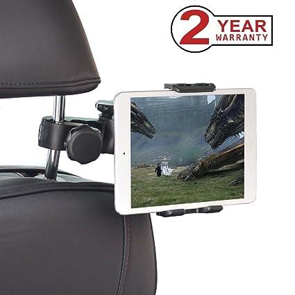Avantree Tablet Holder For Car Headrest Mount Back Seat Bracket Compatible With