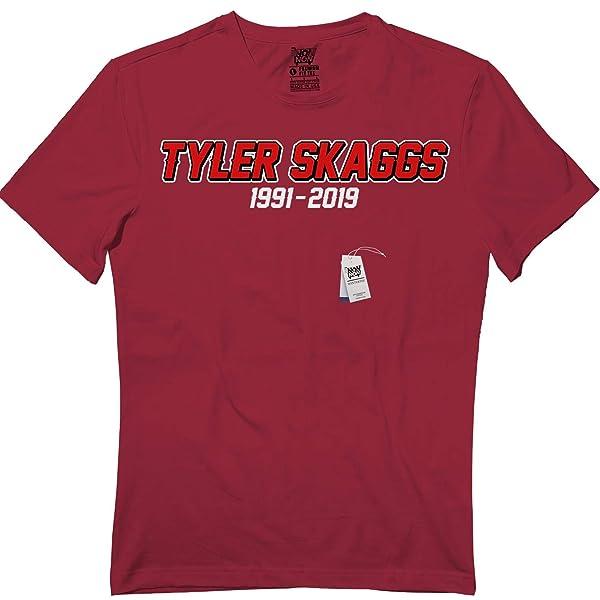 Rest Tyler 45 Skaggs Baseball T Shirt Losangeles Thank You T Shirt