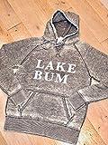 Lake Bum Distressed Vintage Zen Hoodie
