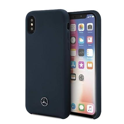 Amazon.com: Carcasa de silicona para teléfono móvil Mercedes ...