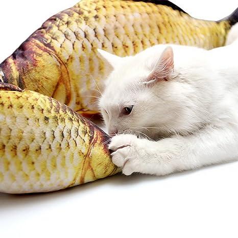 Amazon com : SELMAI Small Cat Catnip Toys 3D Print Stuffed