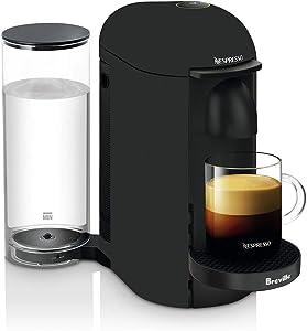 Breville-Nespresso USA BNV425MTB1BUC1 VertuoPlus single serve brewing machine, Matte Black