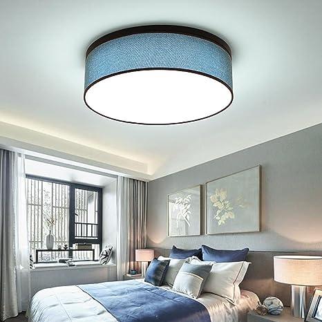 Ronda LED Paño Luz de techo Moderno Romántico Lámpara de ...