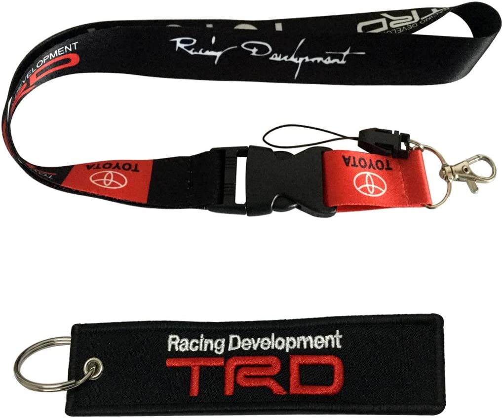 RV Motorcycle Office ID Motorsport ATV SUV Fashion Accessories Cview Premium Quality Lanyard /& Key Chain Tag for Car,Truck House Keys Scooter TRD Gifts Work with UTV