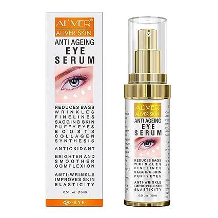 Crema antienvejecimiento para los ojos para reducir las ...
