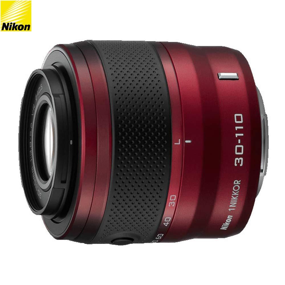 全商品オープニング価格! Nikon VR レンズ 1 NIKKOR 30-110mm f/3.8-5.6 f/3.8-5.6 VR レンズ レッド (3376B) - (認定リファービッシュ品) B07K5YX5CH, イシガキシ:467ebd3d --- arianechie.dominiotemporario.com