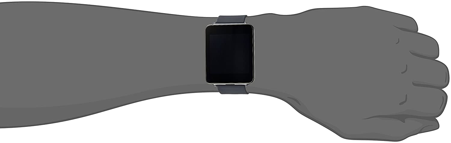 Amazon.com: LG Electronics G Watch - Retail Packaging - Black: Cell Phones & Accessories