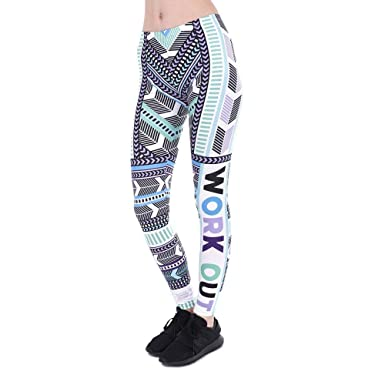 Targogo Pantalones De Yoga Mujer Moda Estiramiento Slim ...
