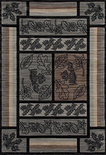Art Carpet Cabin Collection Stone Mountain Woven Contemporary Area Rug, 3