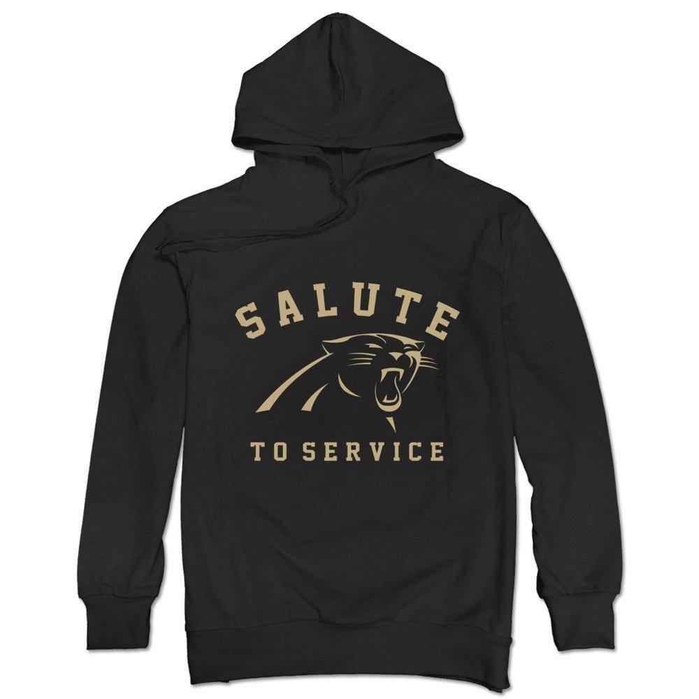newest 4e35d 4a8c3 Men's Carolina Panthers Salute To Service Sweatshirt Funny ...