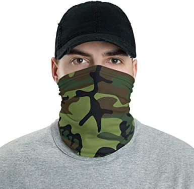 Details about  /Unisex Camo Print Outdoor Cycling Balaclava Neck Gaiter Cap Full Face Cover  U