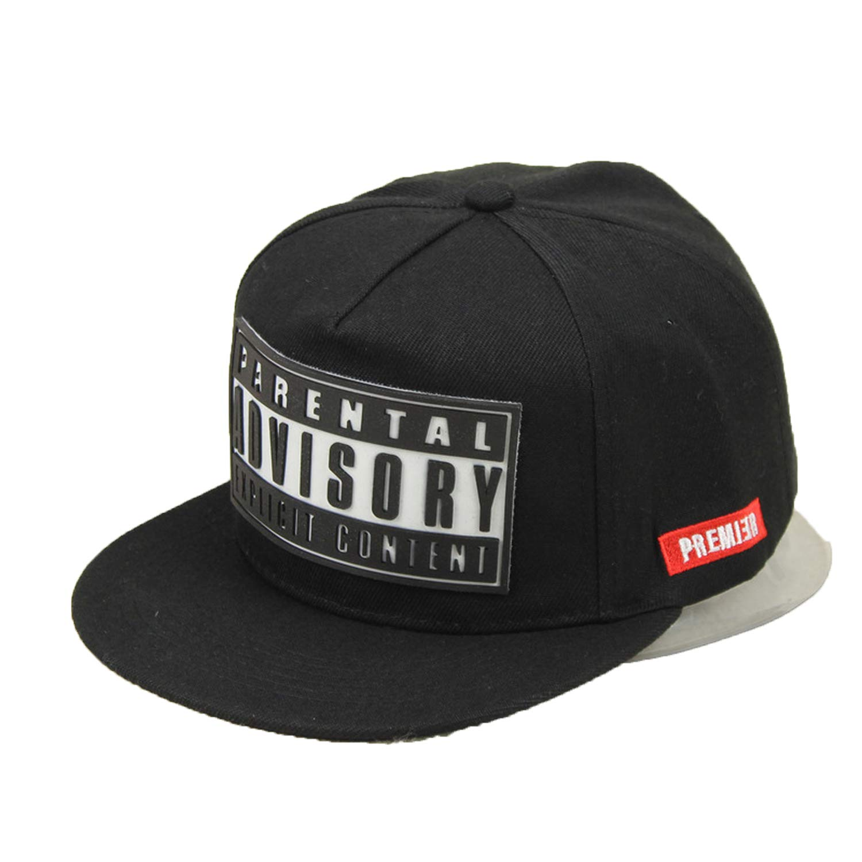 CHENTAI Summer Advisory Letter Hip Hop Snapback Cap Flat Hat 3D Letters Gorras Baseball Caps Men Women Hats at Amazon Mens Clothing store: