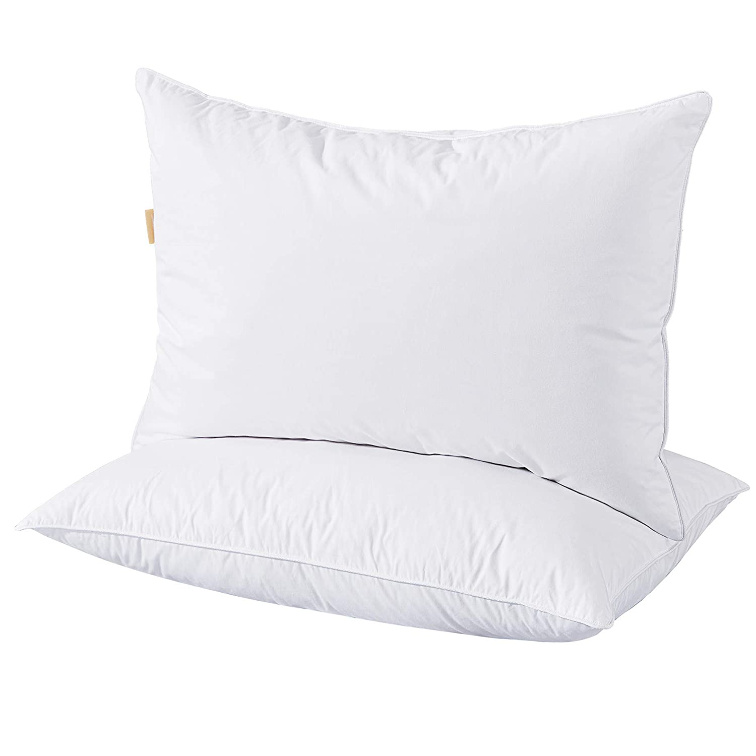 Puredown Goose Down and Feather Bed Pillow, King, White, Set of 2 bed pillows Bed pillows reviews – How to choose the perfect pillow 61LZsS5sHAL