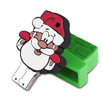 Ec Technology llave USB 8 GB Papá Noel USB Flash Disk de alta ...