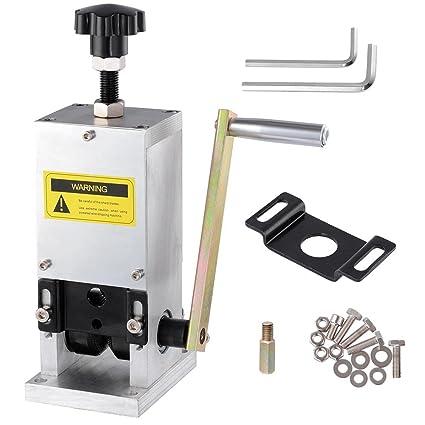reasejoy Manual Máquina de pelado de alambre de cobre cable stripper  cortador de chatarra reciclaje de 7b0e2dfecee3