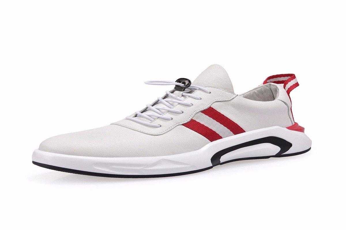 blanc Forty-one KMJBS-Le Cuir des Chaussures d'hommes Printemps des Chaussures des Souliers des Chaussures des Chaussures en Cuir.