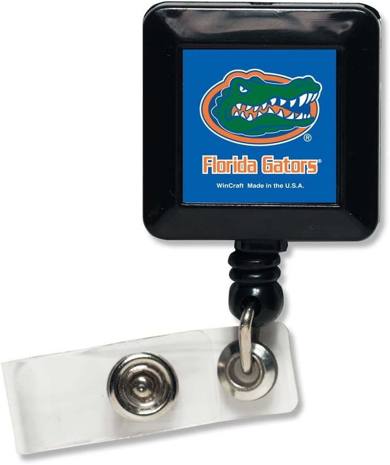 Black WinCraft NCAA University of Florida Retractable Badge Holder