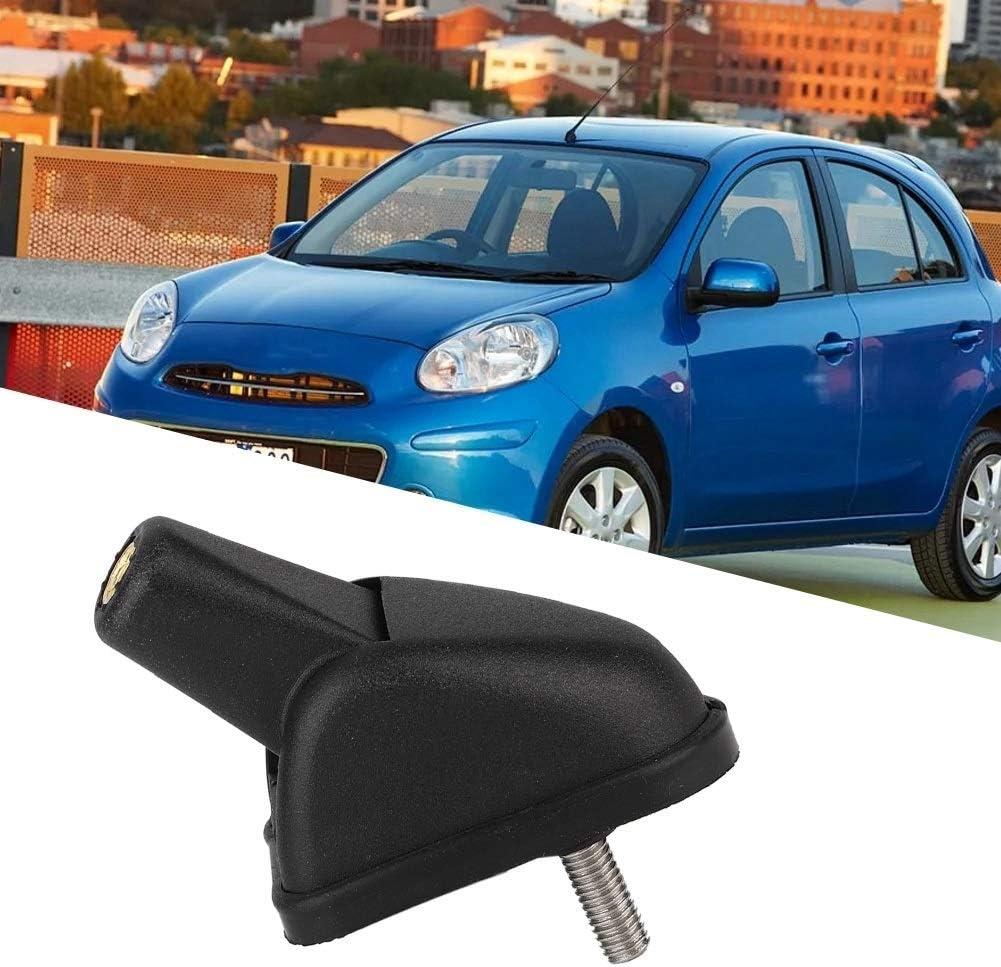 Antena Base-oe 28216BC20A Negro Soporte de montaje en la base del techo de la antena de autoradio del coche Compatible con Nissan Micra Almera