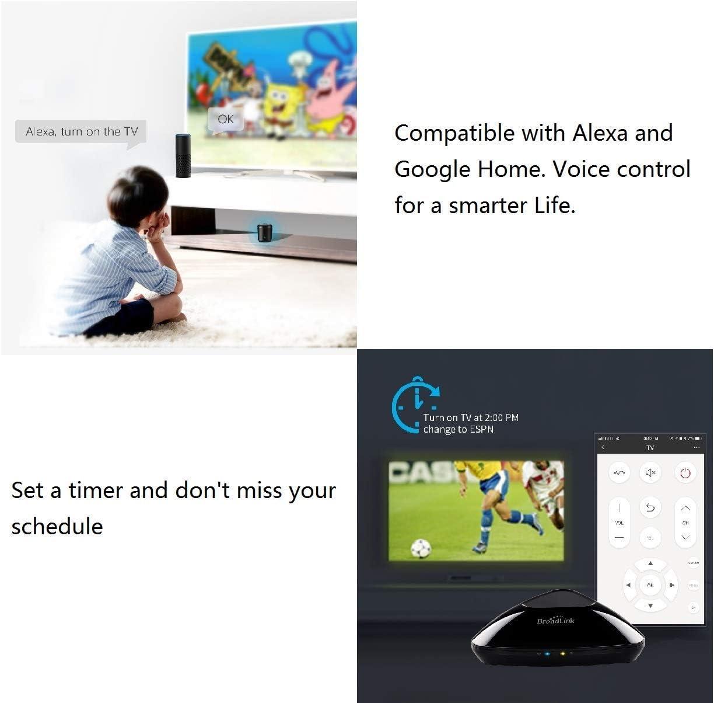 BroadLink RM Pro+ WiFi Smart Home Automatización todo en uno Aprendizaje Controlador remoto universal Compatible para dispositivos IOS / Android (EU standard): Amazon.es: Electrónica