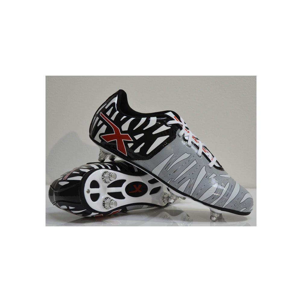 XBlades Wild Thing Perno 6 Botines De Rugby blanco y negro - Negro, 43 EU: Amazon.es: Deportes y aire libre
