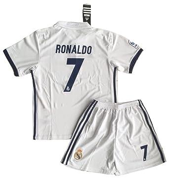 Amazon.com: Cristiano Ronaldo #7 Real Madrid 2016/2017 Home Jersey ...