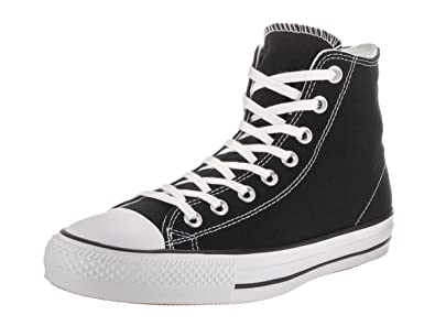 c35f5639b034 Converse Unisex Chuck Taylor All Star Pro Hi Black White Black Basketball  Shoe 4.5