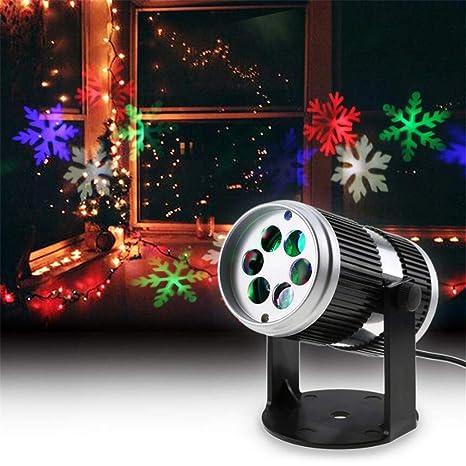 Super Black Bull Luces de proyector de Navidad Movimiento dinámico ...