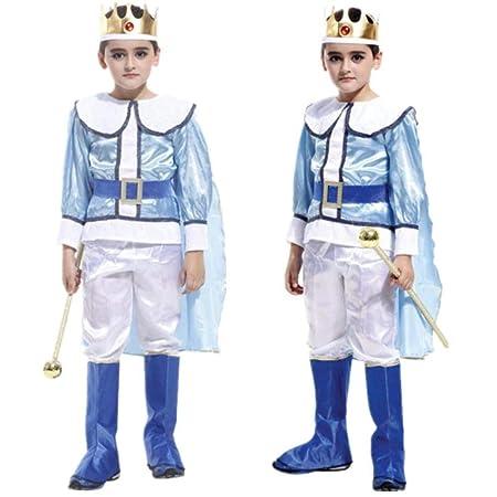 wnddm Disfraz de Príncipe Rey árabe para niños Fiesta de Disfraces ...