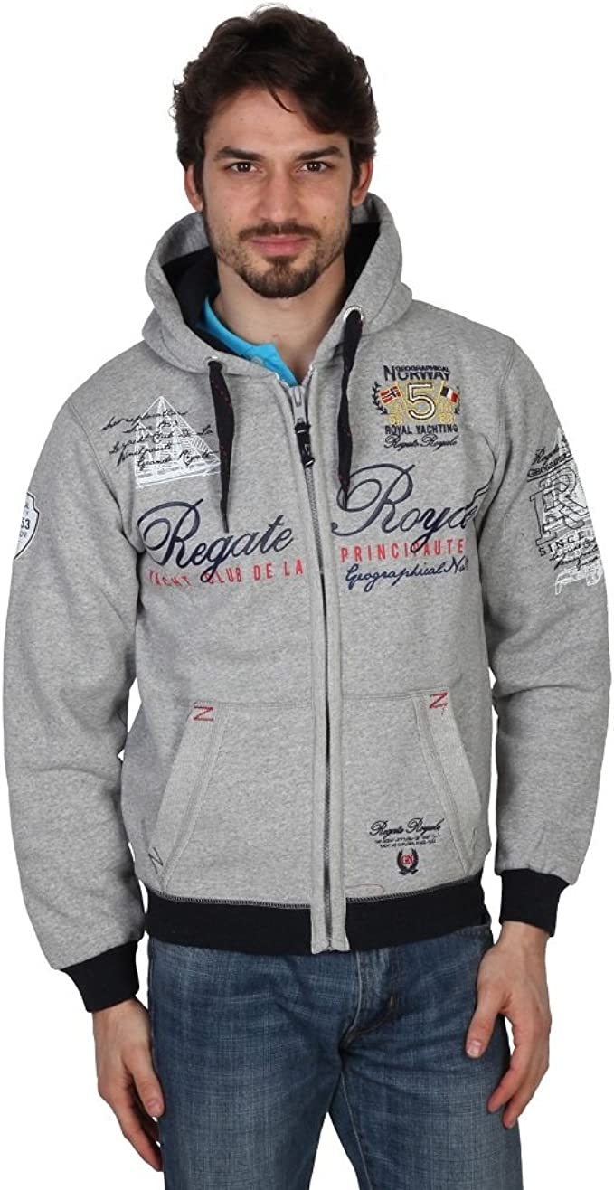 Sweat-shirt GEOGRAPHICAL NORWAY Homme faero noir