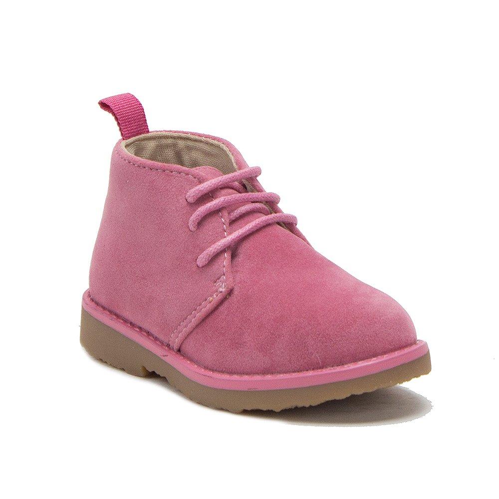 Jaime Aldo Toddler Girls I-502 Ankle High Desert Suede Chukka Boots