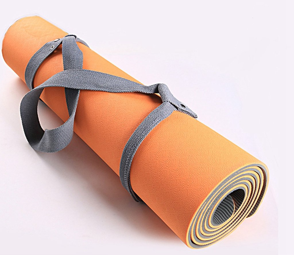 Amazon.com : Cotton Yoga Mat Strap - Yoga Mat Carrier with ...