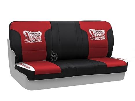 Terrific Amazon Com Coverking Rear 60 40 Split Bench Ncaa Licensed Inzonedesignstudio Interior Chair Design Inzonedesignstudiocom
