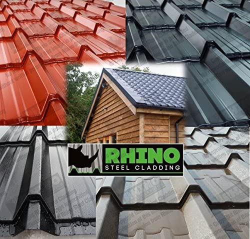 tile roof sheets roof sheets tile effect steel cladding