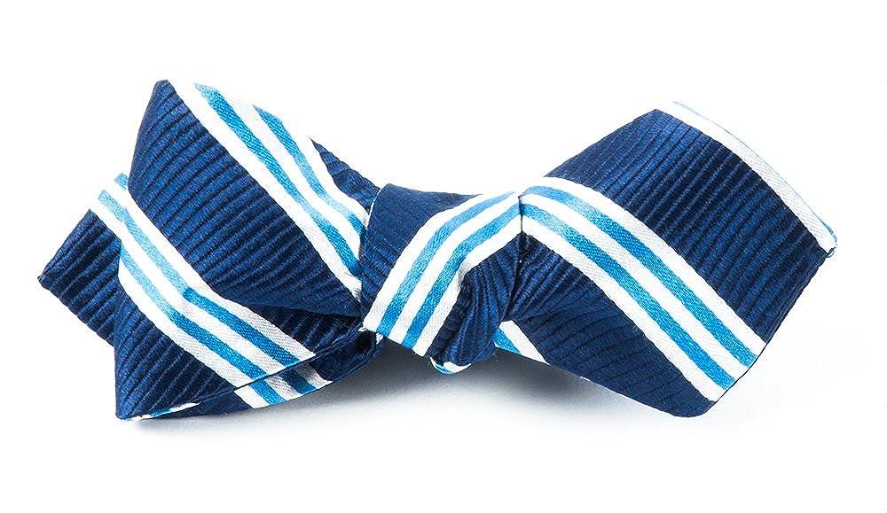 The Tie Bar Bar Stripes 100% Woven Silk Bow Tie 0200001950